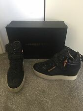 ALEXANDER SMITH Calzature WEDGE Sneakers Black UK 5 EUR 38