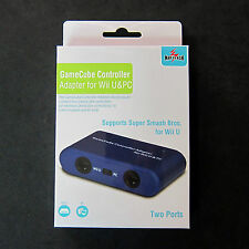 Gamecube Controller to USB Adapter Converter GC 2-Port Mayflash for PC Mac Wii U