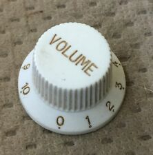 Epiphone Strat Style Electric Guitar Volume Switch Original Knob