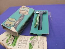 VINTAGE ENDERS SPEED RAZOR WITH NEW BLADES IN ORIGINAL BOX NOS