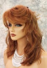 REMY HUMAN HAIR SKIN TOP WIG SEXY STUNNING LONG BEACHY WAVES  *CLR #6  1024