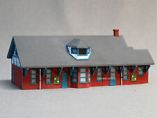IMEX PERMA-SCENE BUILT UP N SCALE OYSTER BAY TRAIN STATION gauge train 6330 NEW