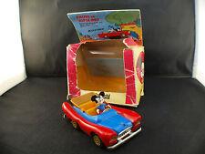 Polistil/politoys W600 L'auto di Topolino  Voiture Mickey Mouse en boite RARE