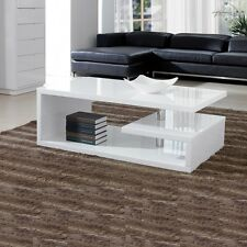 Designer Square Coffee Table White High Gloss Finish!!Free Delivery!!