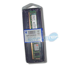 Art.215 MEMORIA RAM 2GB PC DESKTOP DIMM DDR3 PC3-10600 240PIN 1333MHz KINGSTON
