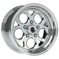 15X8 VISION SPORT MAG POLISHED MAGNUM PRO DRAG RACING WHEEL 5X4.5 1pcNO WELD 5.5