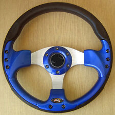 Blue Steering Wheel MAZDA MX5 323 626 MX6 MX3 RX7 RX4