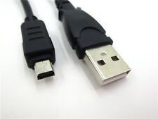 USB Battery Charger Data SYNC Cable Cord for Olympus camera SP-810 UZ