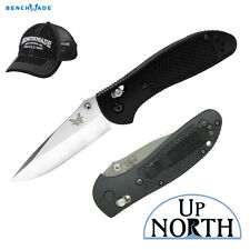 Benchmade 551 Griptilian Folding Knife 154cm Satin Blade AXIS Lock FREE HAT