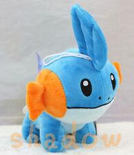 """Cute! Pokemon Mudkip 8"""" Soft Plush Stuffed Doll To Kids Great Christmas Toy Gift"""