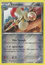 POKEMON XY PHANTOM FORCES-ESCAVALIER 64/119 Rev HOLO