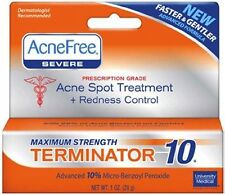 AcneFree Acne Free Terminator 10 Maximum Strenght (3 pack) 10% Benzoyl Peroxide