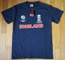 New ENGLAND cricket shirt S ICC World Cup blue NWT jersey