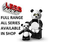 Lego minifigures panda guy lego movie series (71004) new factory sealed