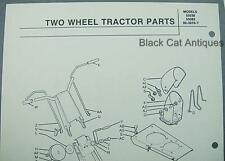 Orig 1976 MTD Snow Thrower Snowblower Parts List Models 55038, 55082, 60-3976-T