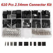 610pz Contatti femmina Connettore adattatore 2.54mm PCB Pin Kit Per Arduino