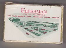 Brown & Bigelow Advertising Playing Cards - Feferman Cadillac Oldsmobile