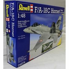 Revell 1:48 04874 F/A-18C Hornet Swiss A.F. MODEL AIRCRAFT KIT