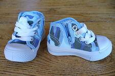 Déstockage !! Neuf ! Chaussures Baskets montantes bébé enfant taille22 bleu ciel
