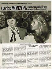 Coupure de presse Clipping 1976 (1 page) Carlos Monzon
