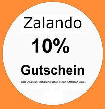 3 Mal der 10% Zalando Gutschein