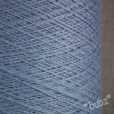 SUPER SOFT SOCK YARN CASHMERE VISCOSE MERINO 2/30s 250g CONE  BALL WEDGWOOD BLUE