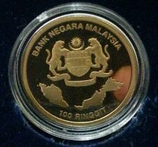 Willie: 2013 Malaysia 50 Years Anniversary Gold Proof with cert and box