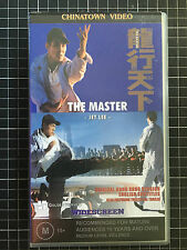 THE MASTER rare Aussie VHS Video cult Hong Kong kung fu Jet Li Lee Tsui hark