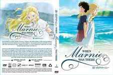 DVD - STUDIO GHIBLI ~ WHEN MARNIE WAS THERE - ENGLISH VERSION & SUBTITLE