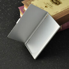 Stainless Steel Pocket Name Credit ID Business Card Holder Box Metal Case JX60 U