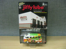 1966 Volkswagen Samba Bus Johnny Lightning Jiffy Lube Special Edition 1:64 Promo