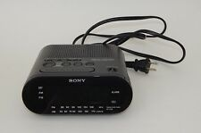 Sony ICF-C218 Dream Machine Auto Time Set AM/FM Clock Radio Dual Alarm Working