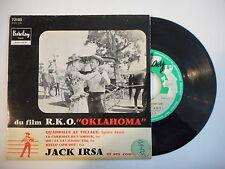 JACK IRSA : QUADRILLE AU VILLAGE - HELLO COW-BOY ! ► EP / 45 ◄ PORT GRATUIT