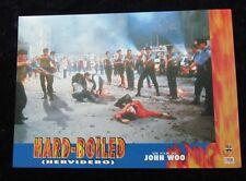 HARD BOILED lobby card  # 3 - YUN FAT CHOW, JOHN WOO