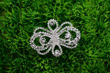 5 pcs Costume Dress Applique Crystal Rhinestone Sewing On(D2025)