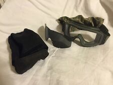 ESS USMC Marine AIRSOFT ATV Tactical GOGGLES SYSTEM GREEN w/ DIGITAL CAMO
