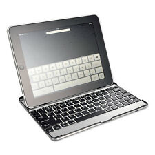 New Slivercrest Slim Bluetooth Keyboard Aluminum Case Cover Stand iPad Air