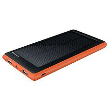 iMuto 10000mAh Compact Solar Panel Portable Charger External Battery for iPho...