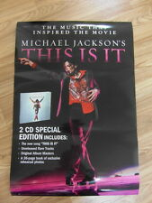 MICHAEL JACKSON -THIS IS IT [ORIGINAL POSTER] *NEW*