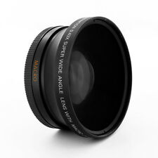72mm Fisheye Fish eye 0.43x Wide Angle + Macro attachment fo CANON Camera Lenses