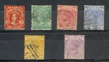 Bahamas Scott 16, 19 (thin), 27-30 Used (Catalog Value $78.75)