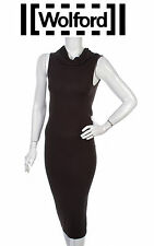 WOLFORD ~ Chocolate Brown Viskose dress ~ size: S  - Authentic