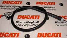 "Late Ducati front wheel drive speedometer cable with 25"" = 635mm long housing"