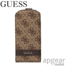 GENUINE GUESS GUFLS34GB BROWN FLAP CASE COVER SAMSUNG GALAXY S3