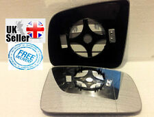 DRIVER SIDE WING DOOR MIRROR GLASS HEATED Mercedes Vito 3 2010-14 Clip On