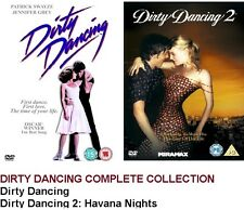 DIRTY DANCING DOUBLE PACK PART 1 + 2 HAVANA NIGHTS MOVIE FILMS DVD Brand New UK