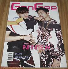 GanGee INFINITE H 2NE1 SANDARA PARK 2PM Nichkhun TABLOID MAGAZINE 2015 MAR MARCH