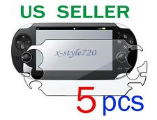 5x Sony PlayStation Vita Full Front LCD Screen Protector Guard Cover Film