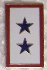 Hat Lapel Push Tie Tac Pin Blue 2 Star Mother NEW