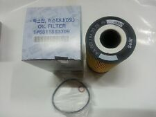 "Genuine Part Oil Filter ""2P"" for SSANGYONG REXTON ISTANA 2.9DSL EG #6611803309"